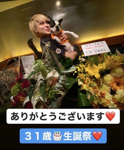 渋谷の手越''生誕祭''~祝31歳~の画像